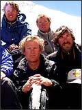 CLICK for the 1999 Mallory and Irvine Expedition Team Photo
